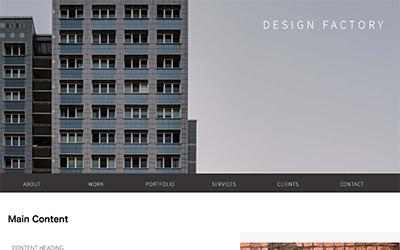 デザインのホームページ