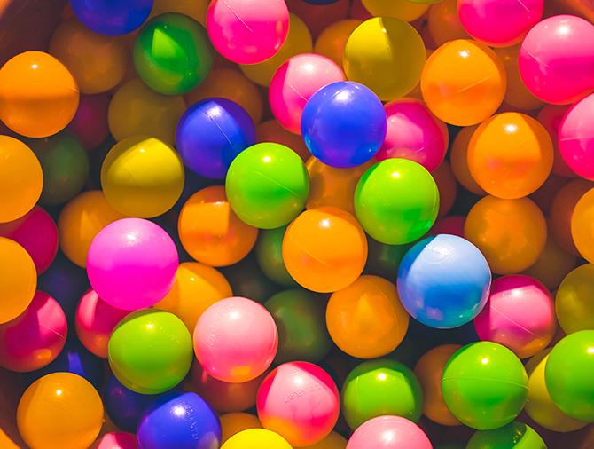 jpg形式のカラーボール画像